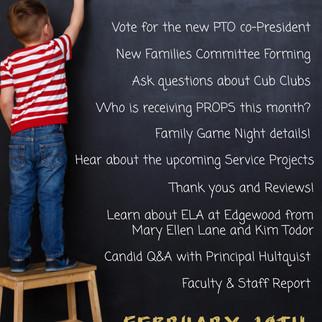 PTO & Principal Meeting Tonight at 7PM!  Don't Miss it!