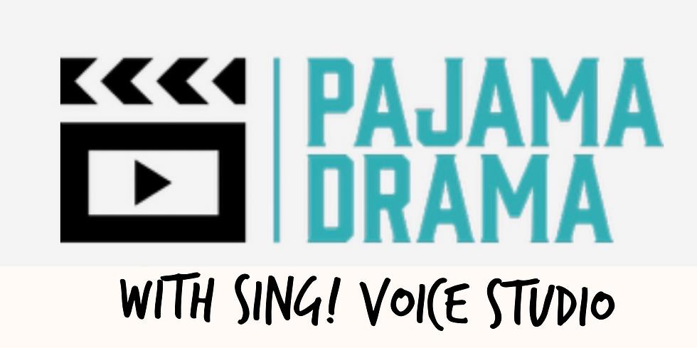 Pajama Drama -  Pop Up -1 Hour Class for 3rd-5th Grades