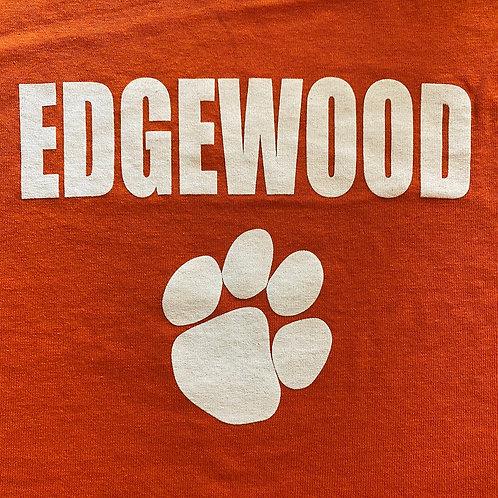 Orange & White Paw-print T-Shirt - Youth & Adult