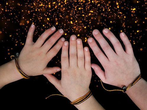 Orange & Black Puravida Bracelets