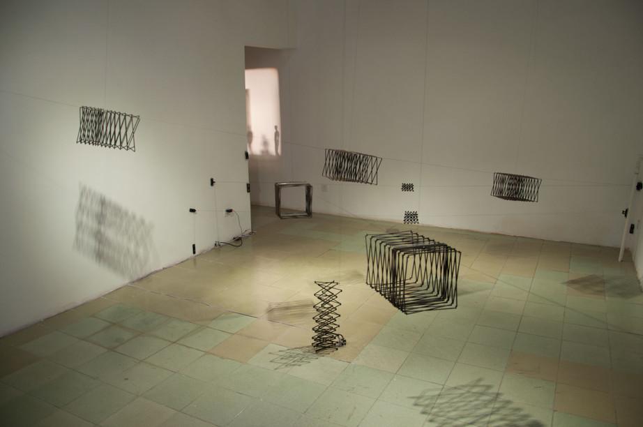 Julien Maire's STEP: DIRECTION in Black Sesame Space
