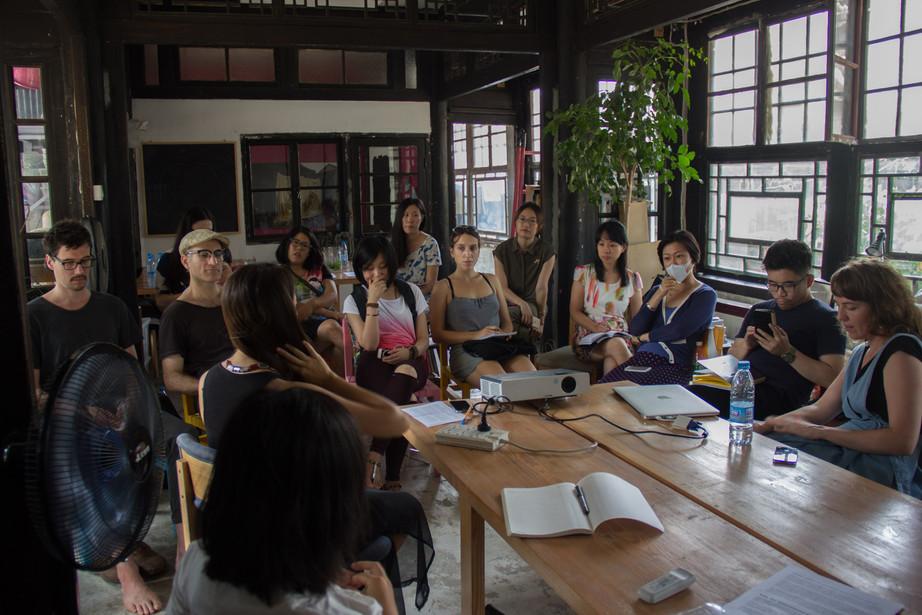 'Everyone Is A Curator?'  Clare Kenny  Artist talk/seminar