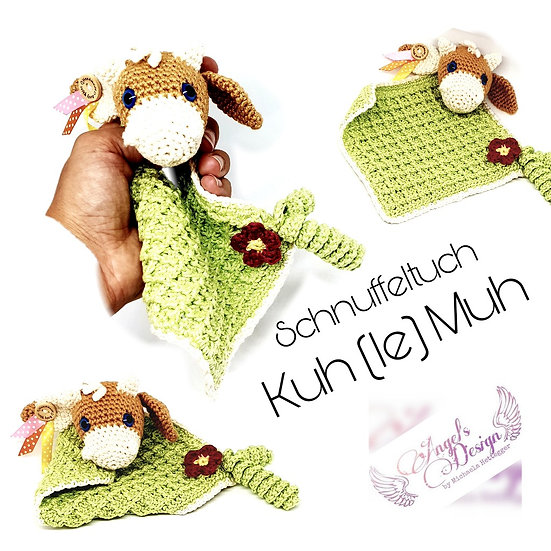 "Schnuffeltuch ""Kuh-le_Muh"""