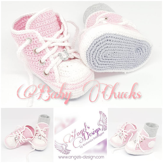 Angel´s Design Baby Chucks 0-6 Monate