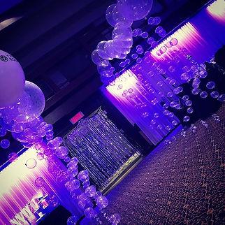 Une entrée de bulle!! #eventdecor _#even