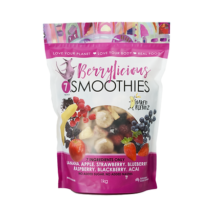 Berrylicious                      3 x 1kg Value Smoothie Packs