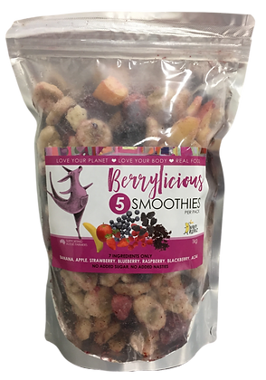 Berrylicious - 3 x 1kg Value Smoothie Packs