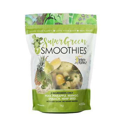 Super Green               3 x 1kg Value Smoothie Packs