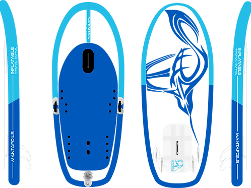 inflatable 150 foil board