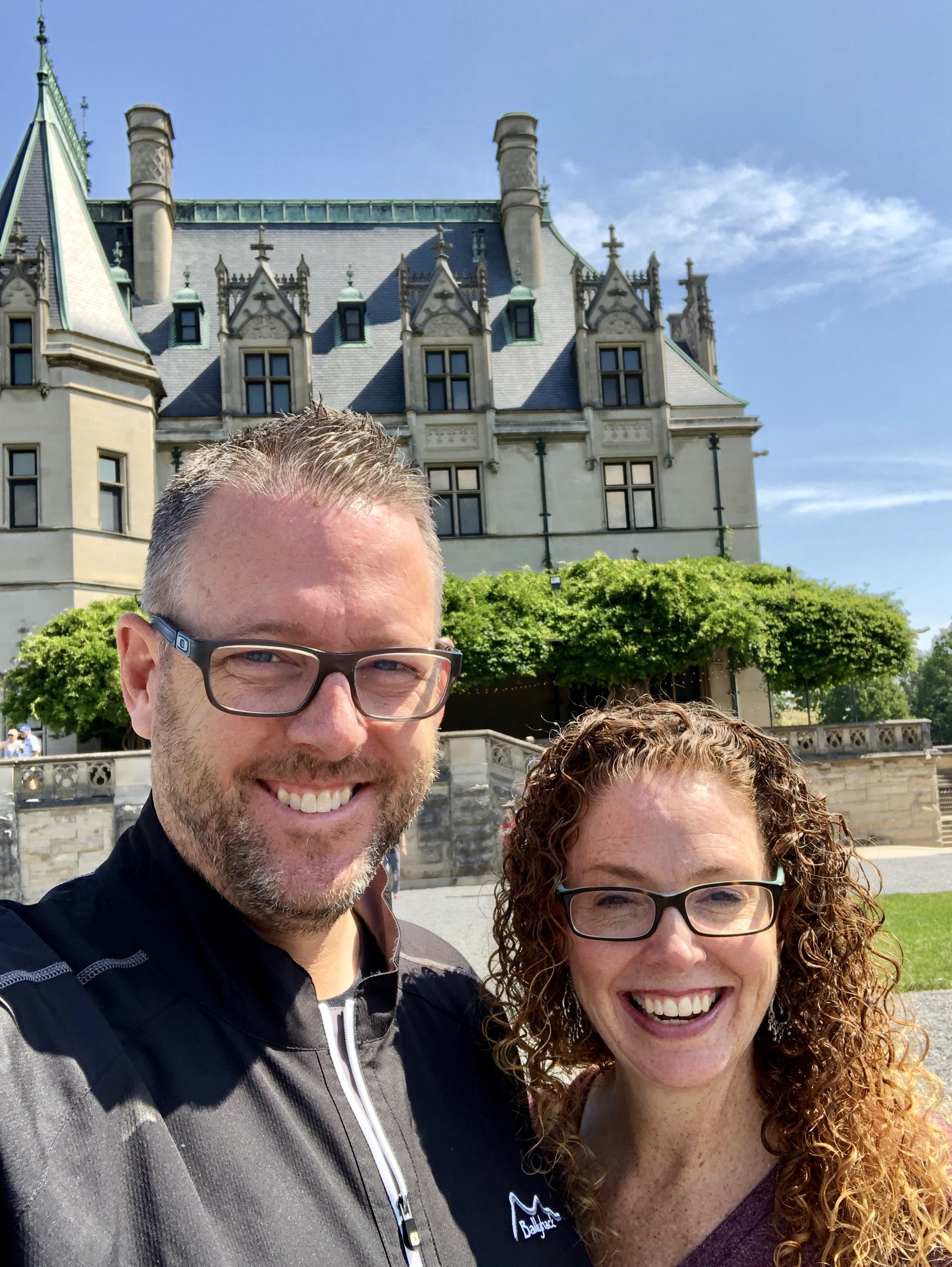 with Robbie at Biltmore House