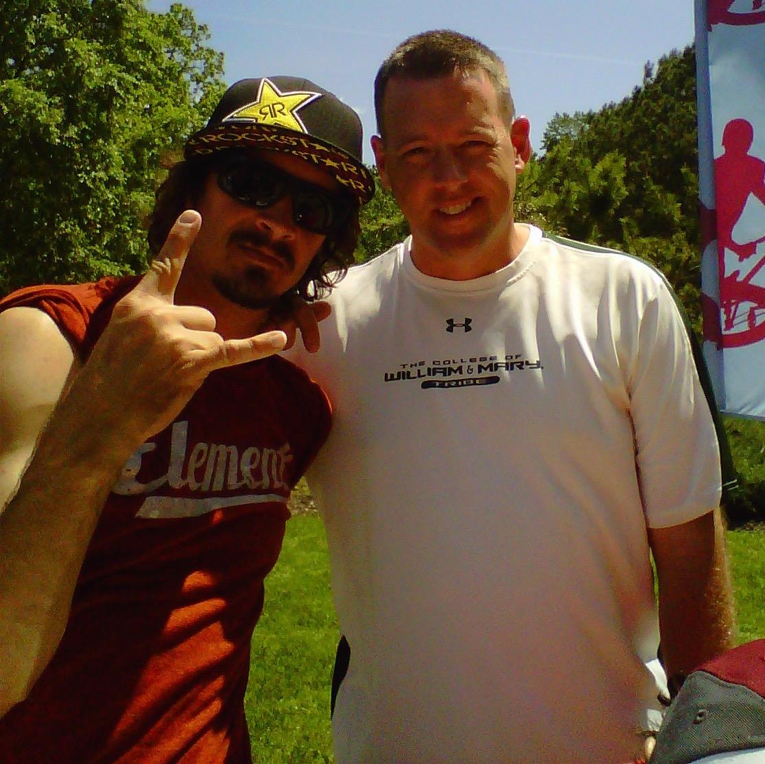 with Bucky Lasek