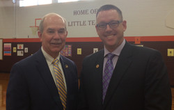 with State Superintendent Dr. Steve Staples