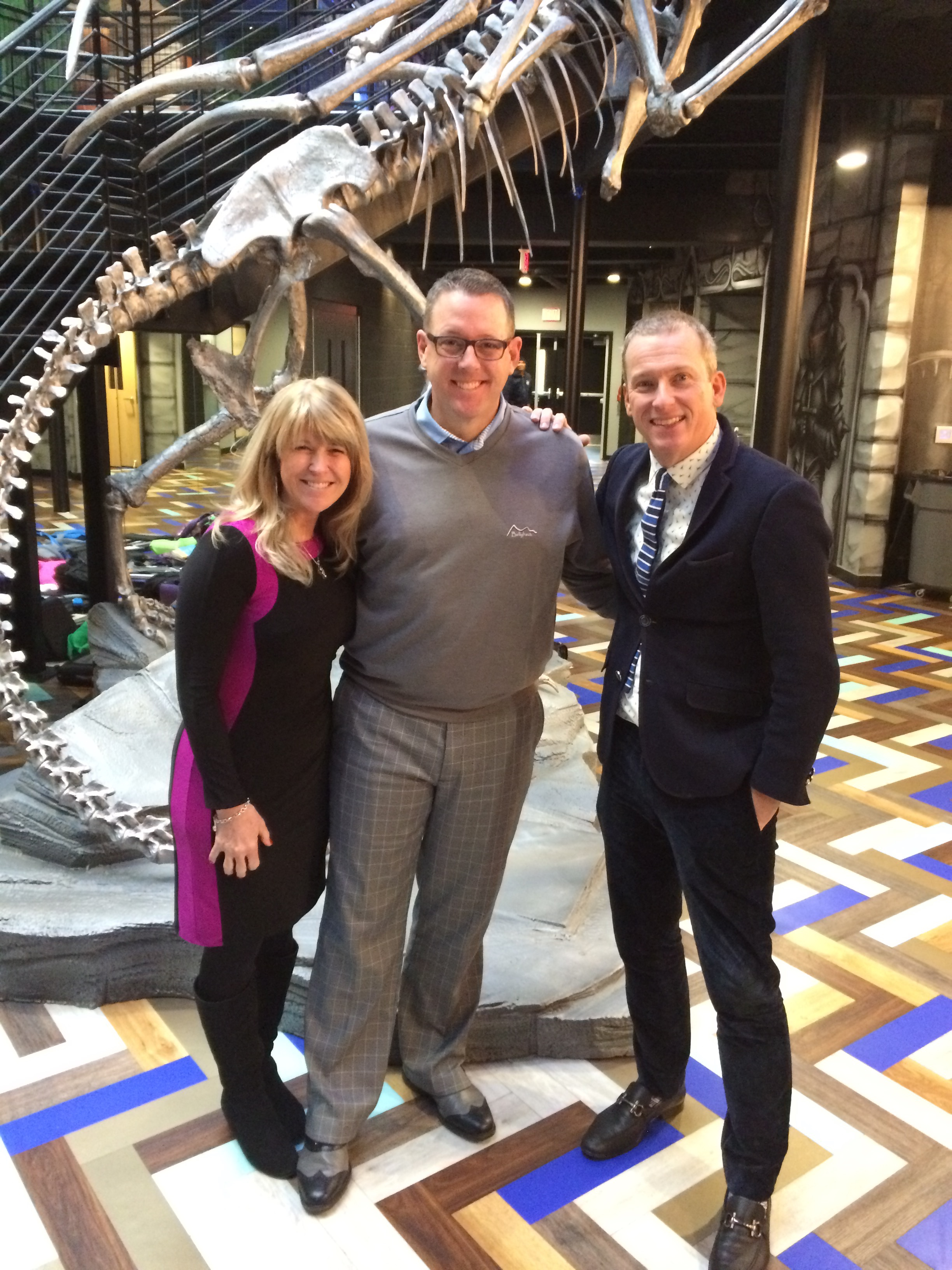 with Kim Bearden and Ron Clark