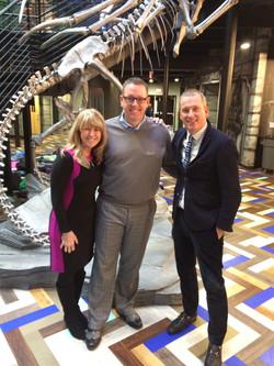 with Kim Bearden and Ron Clark