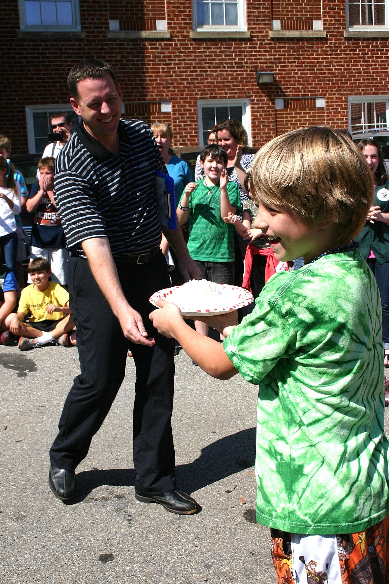 Pi Day Pie Throw