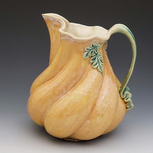 Twisted pitcher