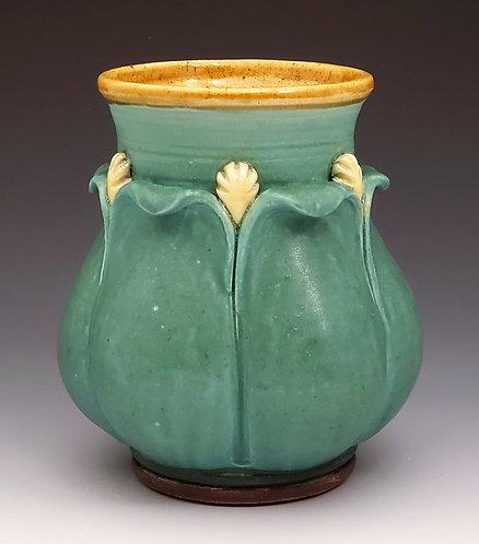 Wavy Petal Vase
