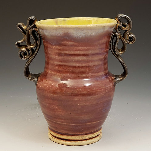 Two handled vase