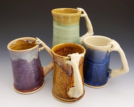 """Handmade""  Arm Mugs"