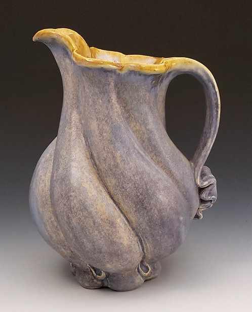 Lavender Twisted Pitcher