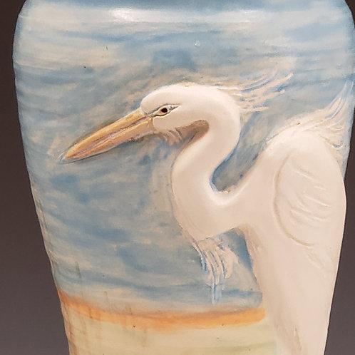 Egret Vase