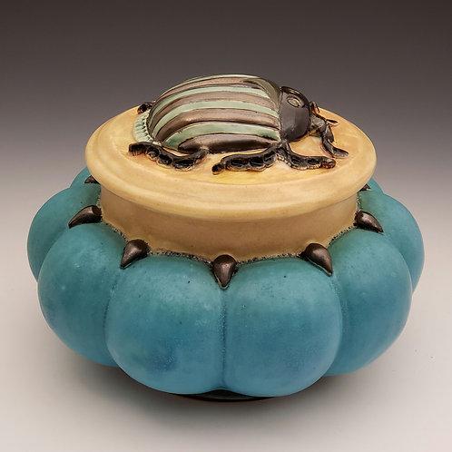 Scarab Beetle Jar