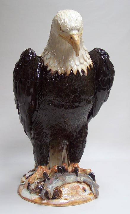 Eagle with Trout