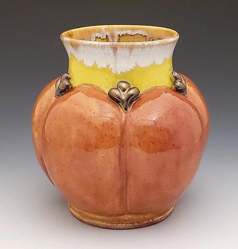 Orange Pumpkin Vase