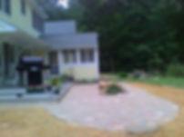 patio, backyard patio, hardscape