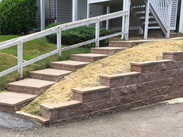 Staircase & Retaining Wall - After