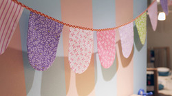 scallop printed bunting1