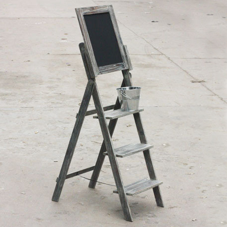 ladder with black board copy