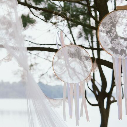 laced dreamcatcher