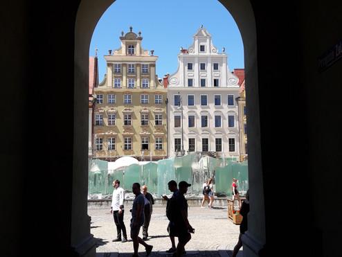 Wrocław letnią porą