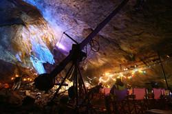 Nosen Lawen in a mine.