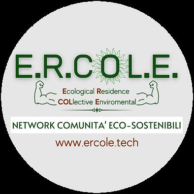 Logo Ercole' Eco-sostenibile Tondo 1.0.p