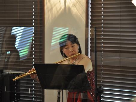 Yumi Sawasaki フルートコンサートを開催