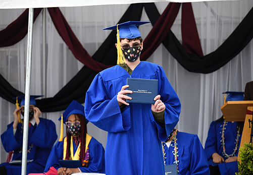 8th Grade Graduation 2020 Oliver - Web