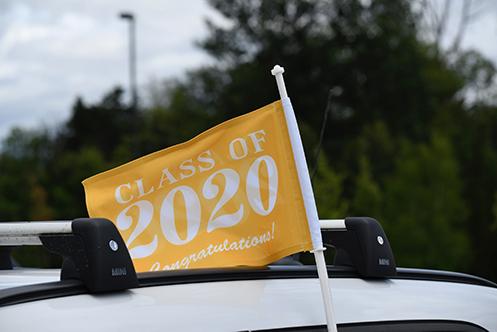 Graduation 2020 Flag - Web