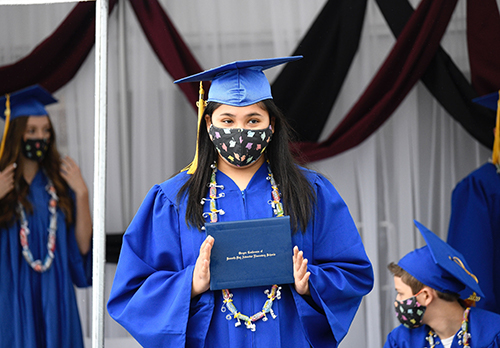 8th Grade Graduation 2020 Stephanie - We