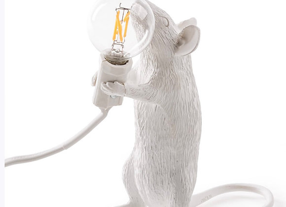 Mouselamp White, standing