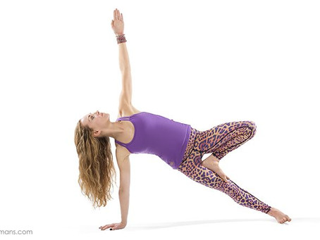 Strong is the new skinny: poses to help you fire up your core