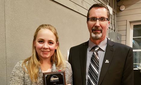 2017 Youth Employee Award - Lauren Ward, AG Foods