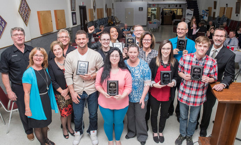 2018 Business Award Recipients