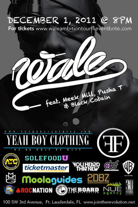 SFU Presents Wale Tour Ft. Meek Mill & Pusha T