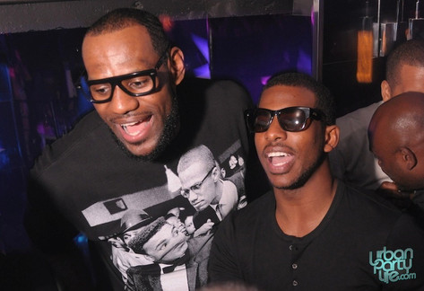 All Star Weekend with LBJ & CP3