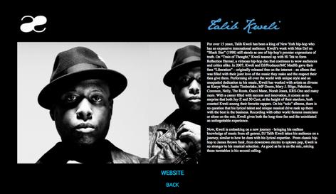 Talib Kweli DJ   AE Collective