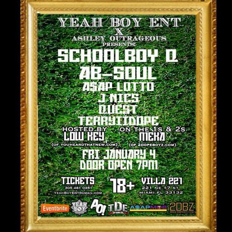 YB Presents Schoolboy Q Concert