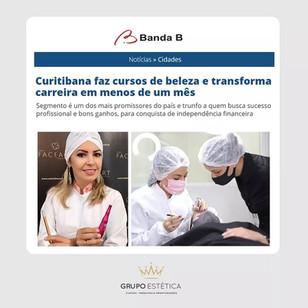 Curitibana faz cursos de beleza e transforma carreira em menos de um mês.
