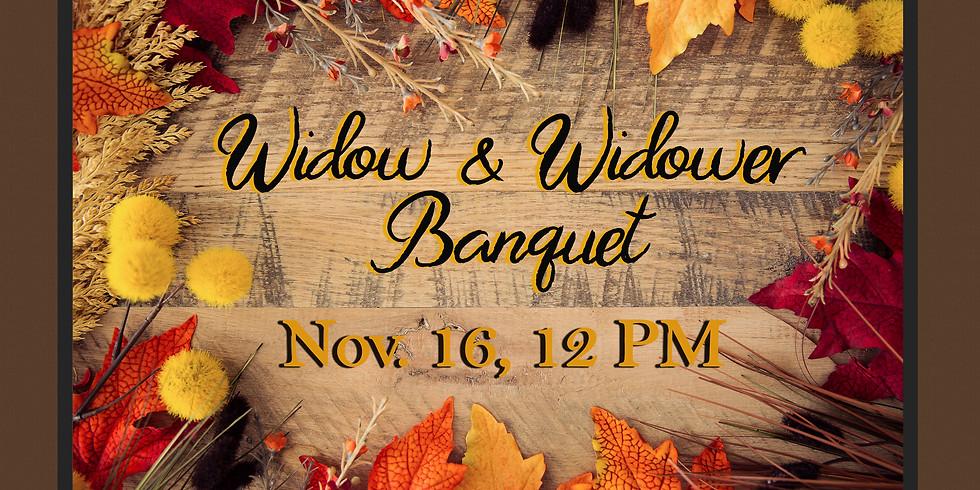 Widow & Widower Banquet